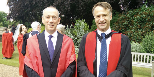 Sir Nicholas Hytner and the Master