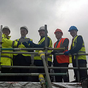 WYNG Gardens Topping Out