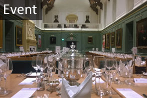 Commemoration of Benefactors Dining Hall set-up